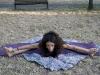 Yoga e stratching - UpavistaKonasana